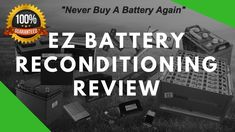 EZ Battery Reconditioning Method Review || EZ Battery Reconditioning PDF... Battery Hacks, Golf Cart Batteries, Energy Companies, Save Energy, Things To Think About, Conditioner, Bring It On, Learning, Stuff To Buy