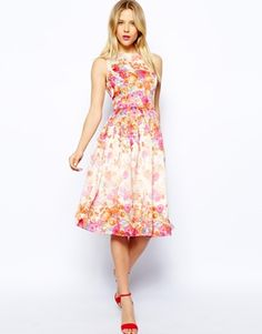 ASOS Floral Prom Dress