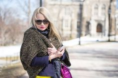 Hot Neon Yellow. Popular Now: Oversized Cardigans with Floral Lace Bodice Dress and More Spring Trends! — A Fashion Page