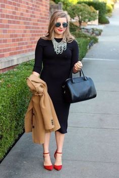 versatile LBD can make your holiday party style easy-peasy - holiday style -