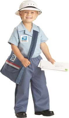 Toddler Boys Mr Mailman Costume - Party City