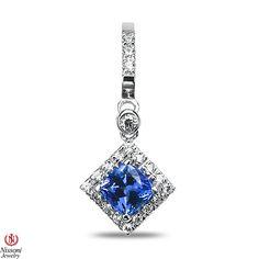 Ebay NissoniJewelry presents - Ladies 1/3CT Diamond Earrings with Tanzanite in 10k White Gold    Model Number:EV2997J-W077TA    http://www.ebay.com/itm/Ladies-1-3CT-Diamond-Earrings-with-Tanzanite-in-10k-White-Gold/321612033649