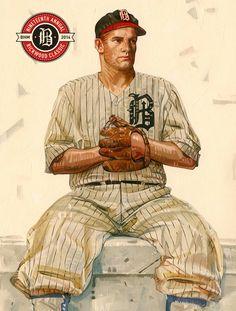 #Retro image from #JimSalvati http://lindgrensmith.com/baseball-gearing-world-series/ #baseball #sports #vintage #RickwoodClassic #BostonRedsox #MLB