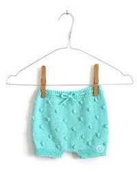 of the knitted bloomers This is the most versatile part of the entire project. Baby Knitting Patterns, Knitting For Kids, Baby Patterns, Free Knitting, Baby Bloomers Pattern, Diaper Cover Pattern, Short Bebe, Crochet Baby, Knit Crochet