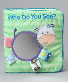 Take a look at this Who Do You See? Cloth Book on zulily today!