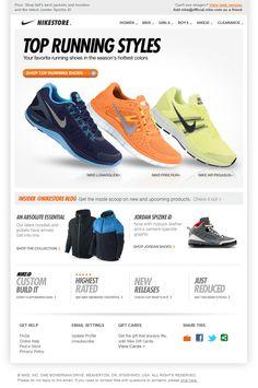 BrainSINS - Plantilla de newsletter Nike 1