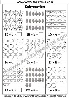 Printable Preschool Worksheets, First Grade Worksheets, Kindergarten Worksheets, Free Printables, Number Line Subtraction, Subtraction Worksheets, Addition Worksheets, Math For Kids, Math Classroom