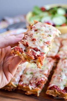 Slimming Eats Syn Free Hash Brown Waffle Pizza - gluten free, vegetarian, Slimming World and Weight Watchers friendly