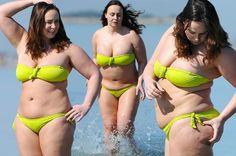 Yo-yo dieter Chanelle Hayes reveals shock transformation as she pinches her curvier behind in a revealing bikini - Mirror Online