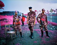 The Color of War in Congo - Photographs - NYTimes.com  Richard Mosse