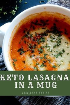Keto lasagna mug low carb recipeYou can find Lasagna and more on our website.Keto lasagna mug low carb recipe Diet Plan Menu, Keto Meal Plan, Diet Meal Plans, Keto Diet List, Starting Keto Diet, Ketogenic Diet, Vegan Keto, Low Carb Recipes, Diet Recipes