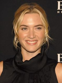 Kate Winslet -- love her. Makeup! Hair color!