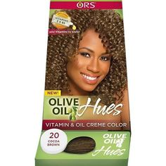 ORS Olive Oil Hues Vitamin & Oil Creme Color Permanent Hair Color