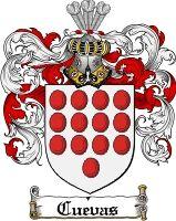 Cuevas Family Crest / Cuevas Coat of Arms