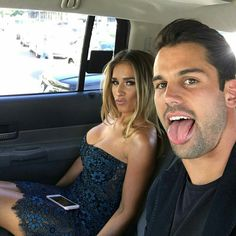 Eric & Jessie on there way to #cmtawards 6\8\16