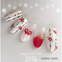 A Revolution: Beautiful Nude Colour Nail Art Xmas Nails, New Year's Nails, Red Nails, Korea Nail Art, New Years Nail Art, Nails Only, Japanese Nail Art, Latest Nail Art, Winter Nail Art