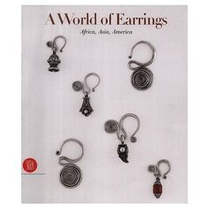 BOOK - (ETHNIC)- A World of Earrings- Africa, Asia, America from the Ghysels Collection