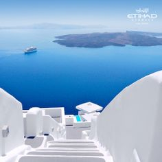 Greece... a never ending fairy tale when waking up to this view with your other half!