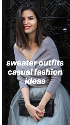 Sweater Outfits, Casual Outfits, Street Photography, Fashion Photography, Sweater Refashion, Clothes For Sale, Passion For Fashion, Fashion Show, Sweaters For Women