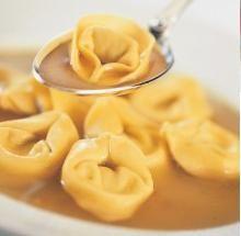 Tortellini in brodo - il tortellino © Immagine concessa dal Tortellino Day, Wine Food Festival