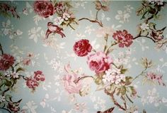 Floral Vintage Wallpaper, Vintage Wallpaper Patterns, Vintage Floral Backgrounds, Vintage Flowers, Vintage Birds, Vintage Lace, Floral Flowers, Vintage Prints, Florals