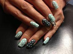 Luxio Gel Polish...Tiffany/Dots...