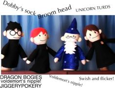 """POTTER PUPPET PALS: WIZARD SWEARS!!!!!!!!!"" by pixxie-sticks-18 ❤ liked on Polyvore"