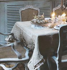 Dining Room Detail 2, image via Ville.&.Casali edited by lb for linenandlavender.net