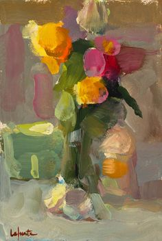 Christine Lafuente :: Christine's wonderful, luscious marks of paint and color.... check her out ... - KNicholson