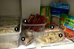 Tips for arranging a freezer full of healthy, convenient food! - Healthy College Life