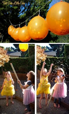 {Sweet Little Pumpkin Party} A few more party pics | That Cute Little Cake Confetti Balloons