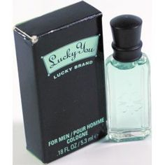 Lucky You Lucky Brand Cologne for Men - for all your travel size needs