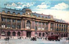 ancien hotel de la poste coté place de la monnaie