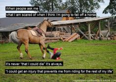 Or my horse could get hurt ending his career as a show horse. I'll keep my horse forever whether he's rideable or not. Equine Quotes, Equestrian Quotes, Equestrian Problems, Equestrian Style, My Horse, Horse Love, Horse Tack, Hunter Jumper, Pretty Horses