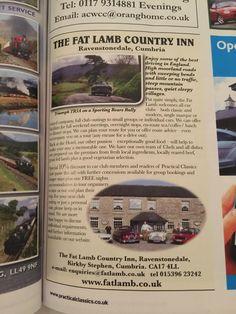 Pub and roads in Cumbria