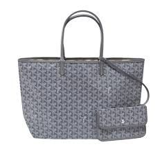 Grey Goyard - Mine will have gold lettering