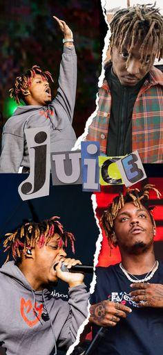 A wallpaper of juice WRLD made by me. Rapper Wallpaper Iphone, Hype Wallpaper, Waves Song, Juice Rapper, Rap Album Covers, Arte Hip Hop, Just Juice, Rap Albums, Legendary Singers