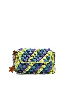 La versión rayada del it bag de M Missoni. Puedes comprarla en http://www.sanci.es/262-missoni M-Missoni - MULTICOLOR RAFFIA SHOULDER BAG
