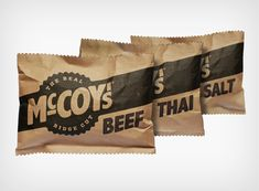 Real McCoy's new packaging
