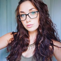 so pretty hair styles and #glasses #eyeglasses #frame