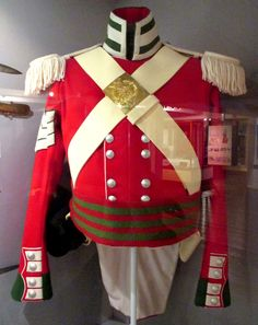 """Reproduction of an 1837 Sergeant's Uniform from the 24th Regiment of Foot at Fort York, Toronto - From the curators' comments: """"The 24th served in Canada in 1776-81, 1790-1800, and 1829-40. It garrisoned Toronto in 1837 after being sent to Lower Canada [i.e. Quebec], where it operated against insurgents in the Rebellion. The regiment returned to Toronto in 1838 to guard the provincial capital during the rest of the crisis before returning to England in 1840."""""""