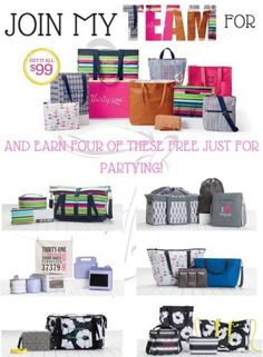 So many amazing reasons to join Thirty-One; ASK ME!  https://www.mythirtyone.com/AlliRambles/shop/join