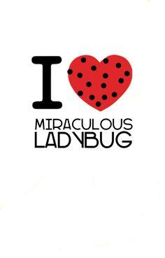 It should be 'I live miraculous ladybug'
