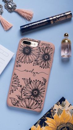 iPhone 7 Plus iPhone 8 Plus Wallet Case with Card Holder,OT ONETOP Premium PU Leather Kickstand Card Slots Case,Double Magnetic Clasp and Durable Shockproof Cover Inch(Rose Gold) Iphone 7 Plus, Girly Phone Cases, Iphone Phone Cases, Iphone Novo, Diy Phone Case Design, Tumblr Phone Case, Silicone Iphone Cases, Accessoires Iphone, Mobile Cases