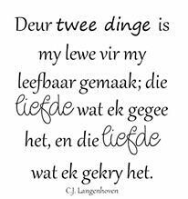 Liefde Wall Quotes, Life Quotes, Afrikaanse Quotes, Quirky Quotes, Biblical Quotes, Special Quotes, Christian Inspiration, Quotes About Strength, True Words