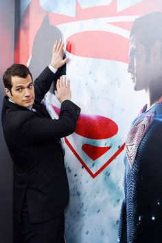 Henry Cavill at the Batman v Superman World Premiere, Radio City Music Hall, NYC, 20th March 2016.