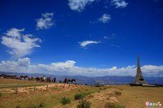 El Obelisco en la Pampa de la Quinua - Ayacucho , Perú (foto: José Choi)