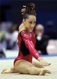 Jordyn Wieber performs on the floor exercise during the 2011 Worlds All-Arounds. She took home the AA gold and a Team gold.