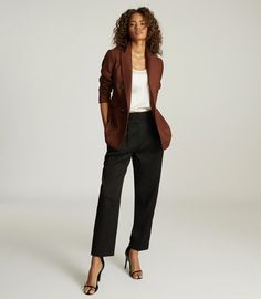 Business Casual Outfits For Women, Stylish Work Outfits, Business Casual Attire, Professional Attire, Business Outfits, Business Fashion, Chic Outfits, Blazer Outfits For Women, Shabby Chic