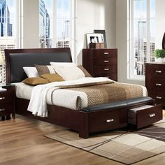 Woodhaven Hill Lyric Storage Sleigh Bed | Wayfair
